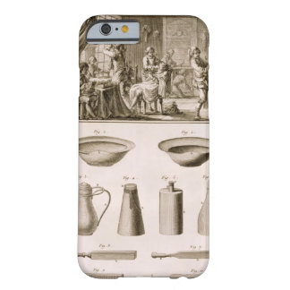 A barbershop and barber tools, from the 'Encyclope Barely There iPhone 6 Case