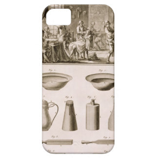 A barbershop and barber tools, from the 'Encyclope iPhone 5 Covers