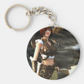 A Bard's Journey Basic Round Button Key Ring