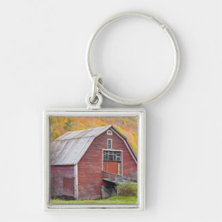 A barn in Vermont's Green Mountains. Hancock, 2 Key Ring