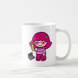 a basic white mug