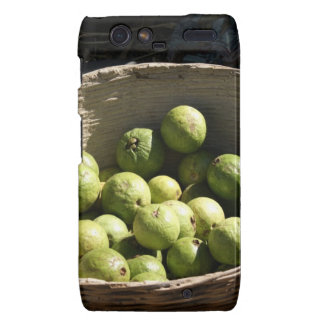A basket full of guavas droid RAZR cover