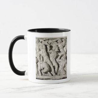 A battle between Romans and Galatians Mug