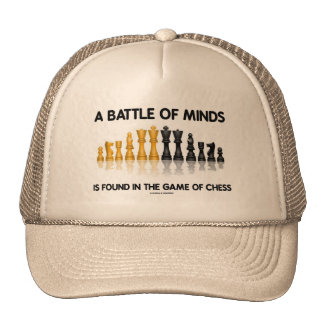 A Battle Of Minds Is Found In The Game Of Chess Hats
