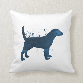 A beagle cushion