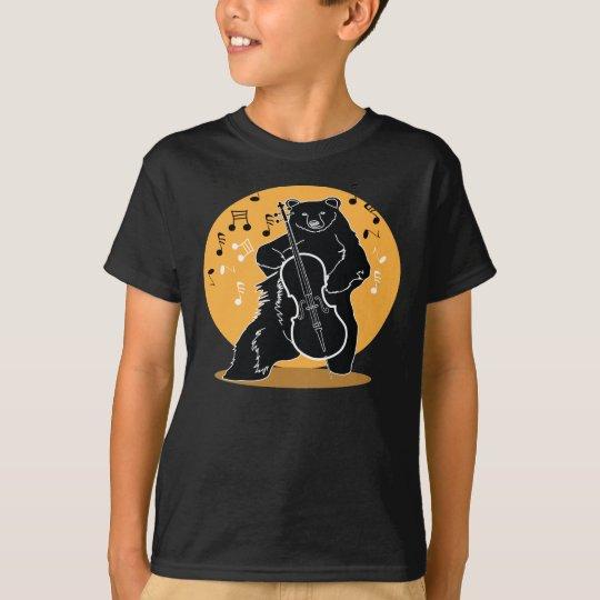 A bear and Cello T-Shirt