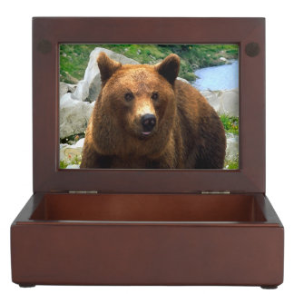 """A Bear Named Buddy"" Keepsake Box"