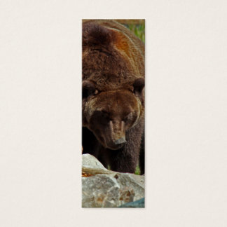 A Bear of a Bookmark Mini Business Card