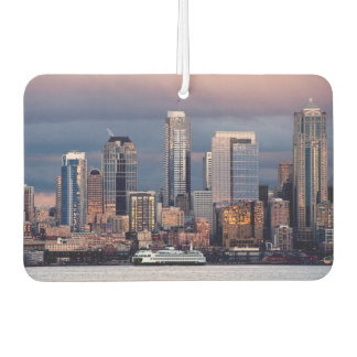 A beautiful and dramatic sunset seen from West Car Air Freshener