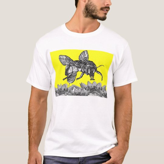 A beautiful busy bee in the garden T-Shirt