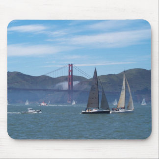 A Beautiful Day on San Francisco Bay Mouse Pad