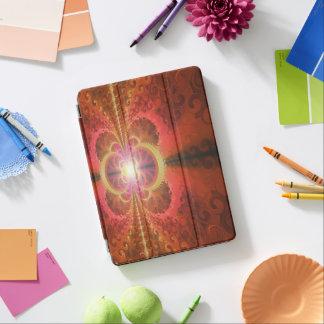 A Beautiful Fractal Burst of Liquid Sunset Colors iPad Pro Cover