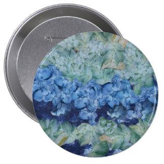 A beautiful garden 10 cm round badge