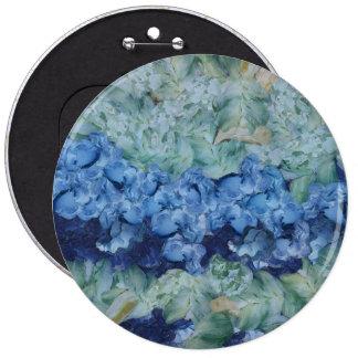 A beautiful garden 6 cm round badge