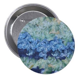 A beautiful garden 7.5 cm round badge
