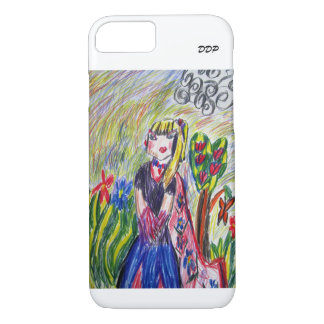 A beautiful girl iPhone 8/7 case