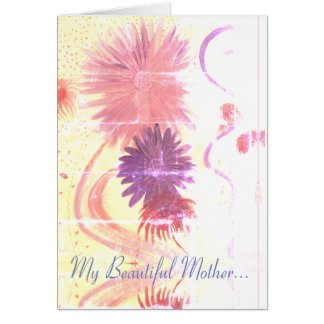 A Beautiful Mother's Day Card