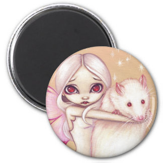 """A Beautiful Rat"" Magnet"