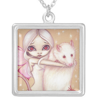 A Beautiful Rat NECKLACE fairy fantasy rats