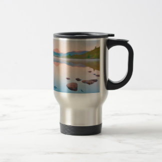 A Beautiful Sunrise On Rannoch Moor Travel Mug