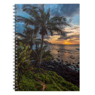 A beautiful sunset 2 note book