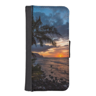 A beautiful sunset iPhone SE/5/5s wallet case