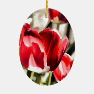 A beautiful Tulip Christmas Ornament