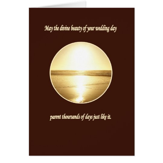 A Beautiful Wedding Wish Card