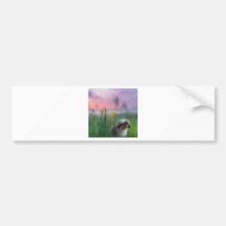 a_Beautiful_world_PAINTING_02.jpg Bumper Sticker