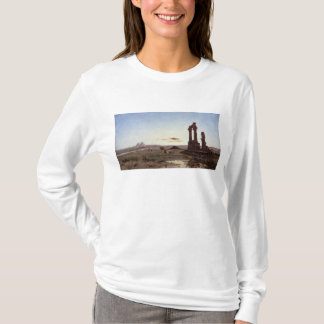 A Bedouin Encampment by a Ruined Temple T-Shirt