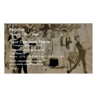 A Bell Boy Earl Jensch s Retro Theater Business Card