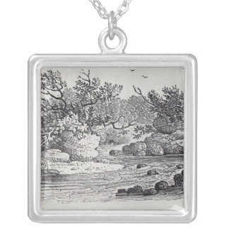 A Bend in the River from 'History of British Silver Plated Necklace