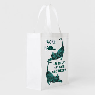 A Better Life For My Cat Reusable Totes