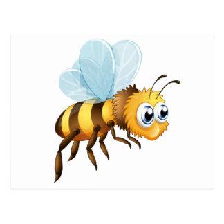 A big bee postcard