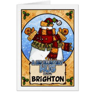 A Big Blustery Hug from Brighton Card