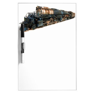 A Big Boy Steam Locomotive Dry Erase Board