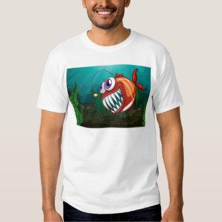 A big fish under the sea t shirt