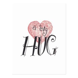 A Big Hug Postcard