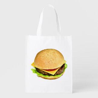 A Big Juicy Cheeseburger Photo
