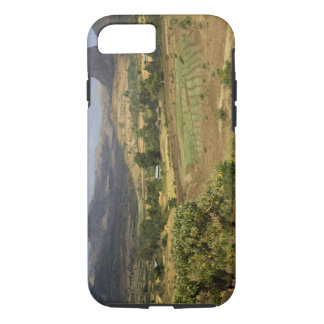 A big scenic view of a big rock mountain iPhone 8/7 case