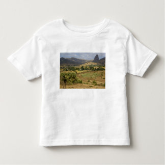 A big scenic view of a big rock mountain toddler T-Shirt