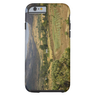 A big scenic view of a big rock mountain tough iPhone 6 case