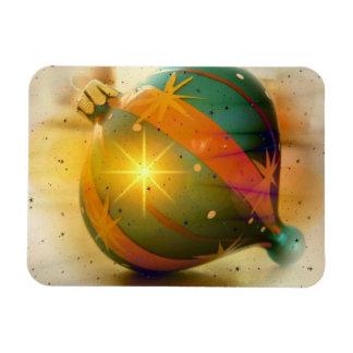 A Big Shiny Christmas Ornament Rectangular Photo Magnet