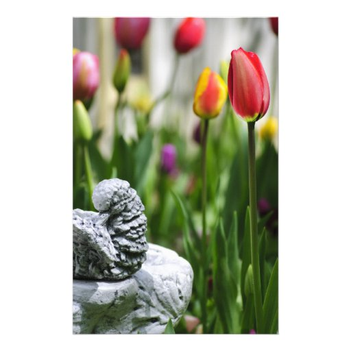 A Bird And A Tulip Custom Flyer