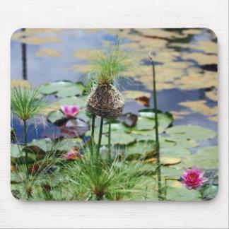 A Birds Nest Mouse Pad