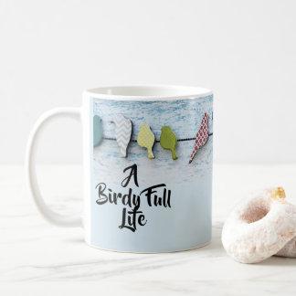 A Birdy Full Life Coffee Mug