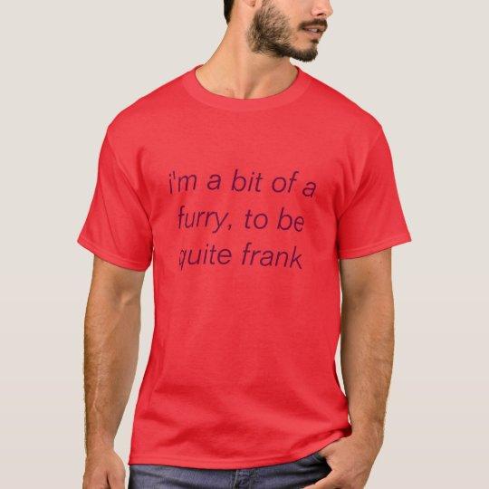a bit of a furry tshirt