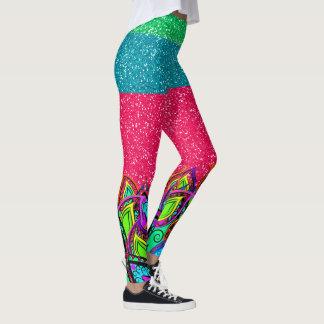 A Bit of Bling Pop Fashion Leggings