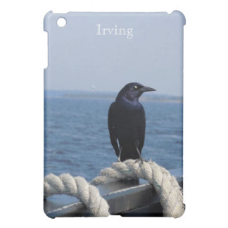 A Black Bird on the Ferry iPad Mini Cases