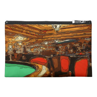 A Black Jack Table in the heart of a Vegas Casino Travel Accessories Bag